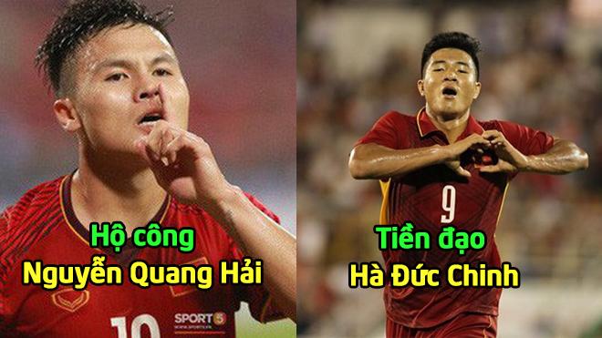 Đội hình dự kiến của U23 Việt Nam ở trận đấu tập gặp Đài Bắc Trung Hoa