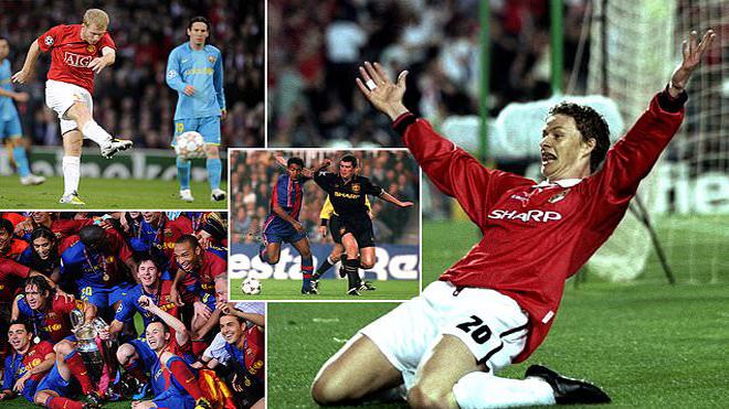 Xuôi dòng quá khứ Man Utd – Barcelona, cặp đấu nhiều duyên nợ