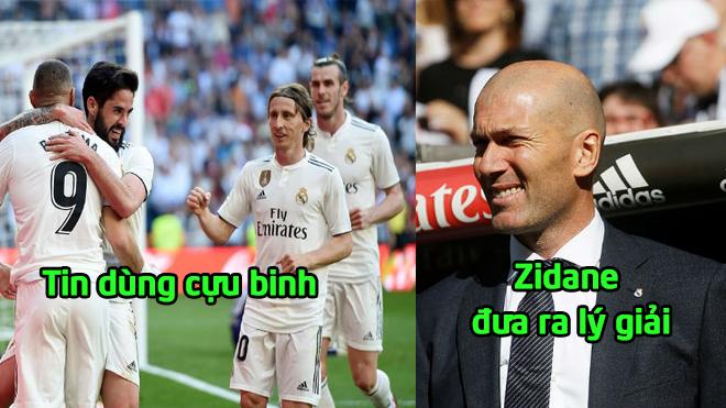 """Real thắng tưng bừng và đây chính là lý do vì sao Zidane """"trảm"""" Courtois, tin dùng 3 đệ ruột"""