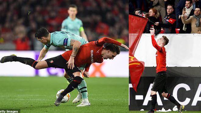 """Kết quả Rennes – Arsenal: Thẻ đỏ, phản lưới và màn """"ngược dòng"""" ngoạn mục"""