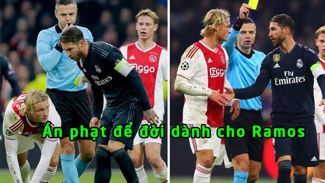 CHÍNH THỨC: UEFA ra án phạt với Ramos vì hành vi tẩy thẻ