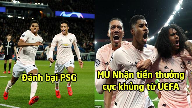 Hạ đẹp PSG, MU bất ngờ được nhận số tiền cực khủ.ng từ UEFA