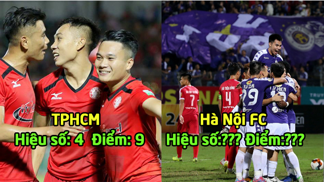 BXH sau vòng 3 V-League 2019: TPHCM tiếp tục dẫn đầu, HAGL đứng thứ 9 , bất ngờ Hà Nội FC
