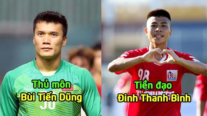 Đội hình kết hợp siêu hùng mạnh giữa cầu thủ Viettel và Hà Nội FC ở U23 Việt Nam