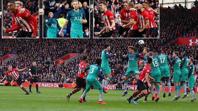 Kết quả Southampton – Tottenham: Sững sờ ngược dòng, cầu vồng hạ De Gea tái hiện