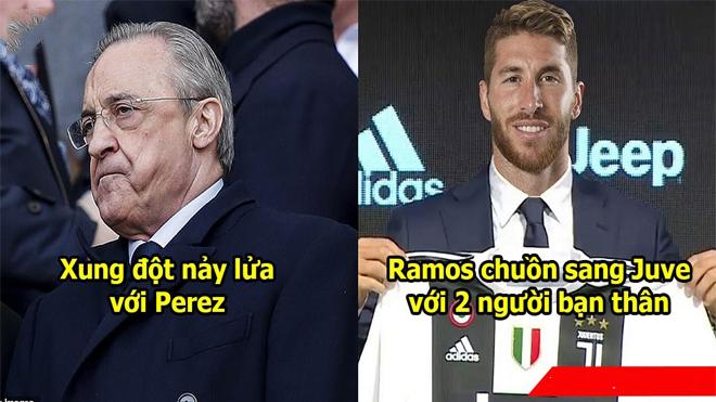 Bật cả chủ tịch Perez, Ramos bị Real tống cổ sang Juventus tái hợp bạn thân Ronaldo và Marcelo