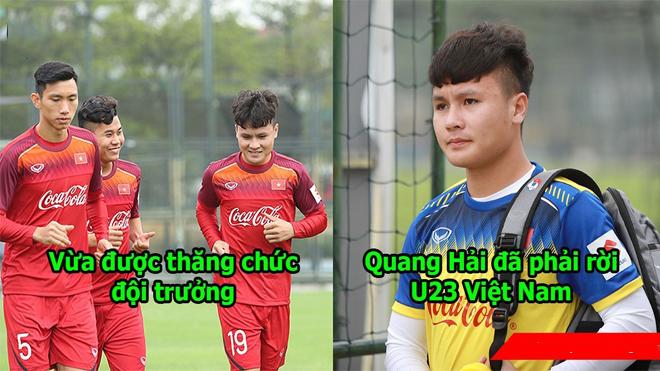 Vừa lên tập trung ít ngày, Quang Hải, Văn Hậu đã bị thầy Park trả về CLB Hà Nội vì…..