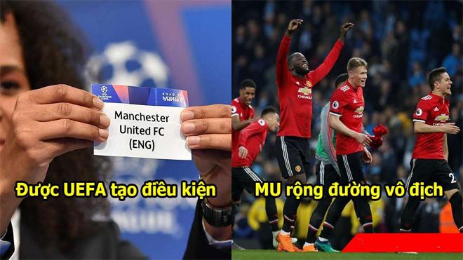 UEFA thay đổi luật bốc thăm vòng tứ kết Champions League, MU sáng cửa lên ngôi vô địch
