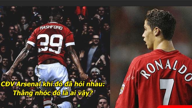 """""""Marcus Rashford đang đi chính trên con đường trở thành huyền thoại của Ronaldo"""""""