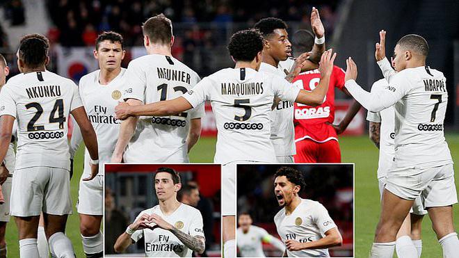 """Kết quả Dijon vs PSG: Không Neymar cũng chẳng Cavani, """"Cậu bé vàng"""" châm ngòi đại tiệc"""