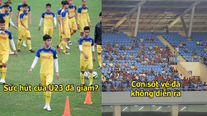 Không còn lứa Công Phượng – Xuân Trường, U23 Việt Nam bị khán giả bỏ rơi thế này đây!