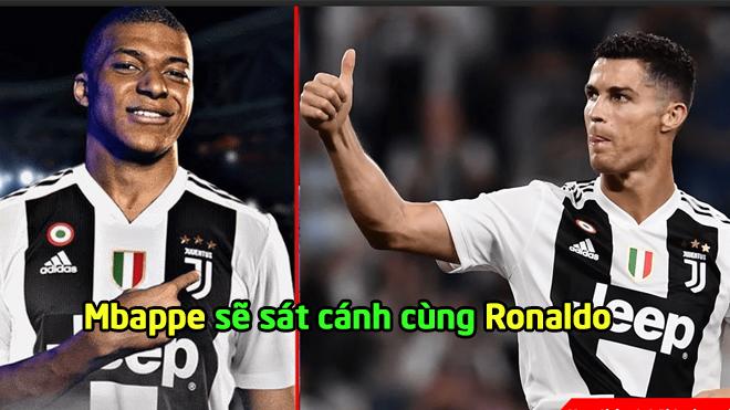 """Juventus đưa Mbappe về đá cặp với Ronaldo, quyết không cho Real xây dựng """"Galaticos 3.0"""""""