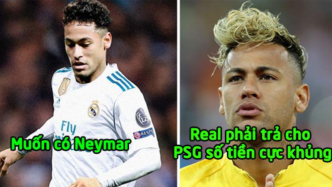 """Rúng động siêu bo.m tấn: Real sẵn sàng chi """"núi"""" tiền cực lớn đưa Neymar về Bernabeu"""