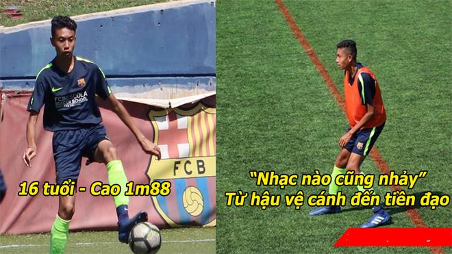 Cầu thủ Việt Kiều từ lò đào tạo Barca muốn về nước cống hiến cho ĐTQG: Siêu cầu thủ chơi được mọi vị trí