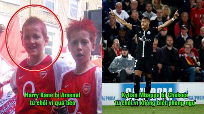 Top 5 siêu sao từng bị từ chối chiêu mộ với lý do như trò hề: Nhìn Ronaldo, Arsenal chỉ biết khóc thầm