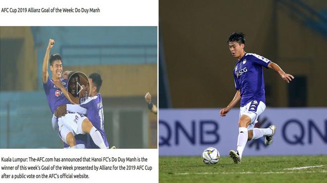 Như một trò đùa: AFC thừa nhận sai lầm ngớ ngẩn, trả lại giải bàn thắng đẹp nhất cho Duy Mạnh