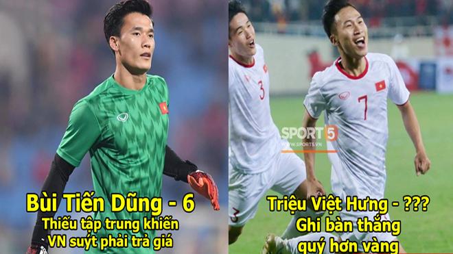 Chấm điểm U23 Việt Nam 1-0 U23 Indonesia: Hàng công mờ nhạt, đàn em Công Phượng xứng danh người gánh team