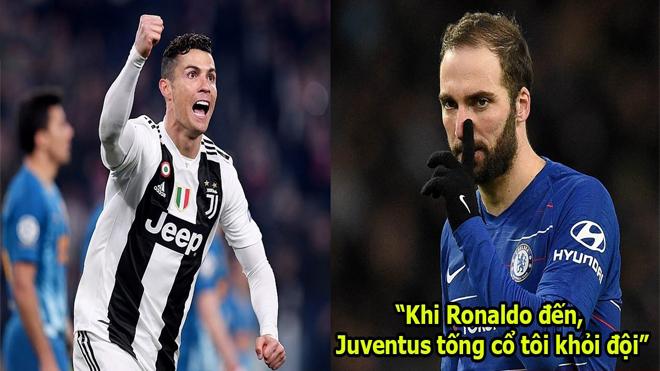 """""""Chính Cristiano Ronaldo đang khiến Higuain thành kẻ hết thời"""""""