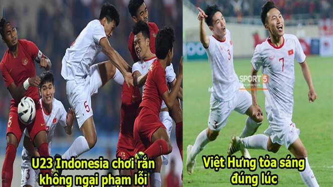 """5 điểm nhấn U23 Việt Nam 1-0 U23 Indonesia: Sao HAGL """"cứu giá"""" thầy Park"""