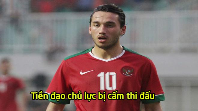 """CĐV Indonesia phẫn nộ, """"t.ấn công"""" FIFA vì cấm tiền đạo chủ lực được thi đấu ở Việt Nam"""