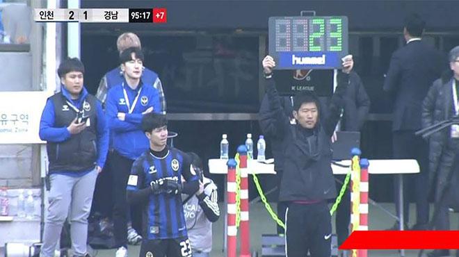 Kịp thời tung Công Phượng vào sân từ ghế dự bị, Incheon giành thắng thuyết phục trước Á quân K-League