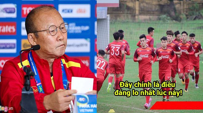 """Thầy Park: """"Lứa cầu thủ U23 Việt Nam hiện tại yếu hơn năm ngoái nhiều"""""""