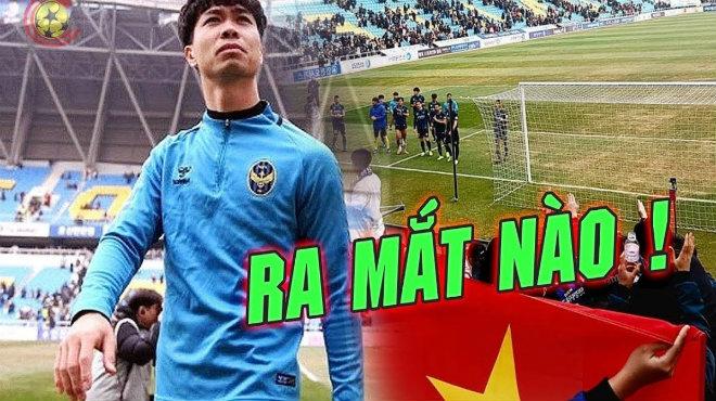 Vừa lập hattrick siêu việt giúp Incheon giành chiến thắng, Công Phượng sẽ đá chính trận đầu tiên vào 12h trưa nay