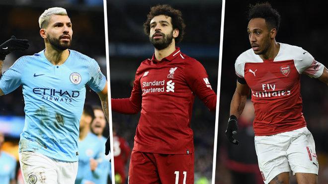 BXH cuộc đua giày vàng Premier League: Mane bứt tốc lên áp sát Aguero, Vua Salah bất ngờ hụt hơi