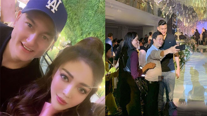 Đang chơi bóng ở Thái Lan, Văn Lâm cuống cuồng bắt máy bay về ăn cưới hot girl giàu nhất Việt Nam