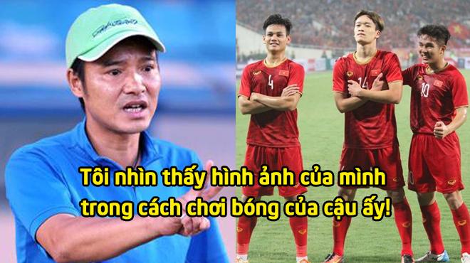 """Danh thủ Hồng Sơn: """"Nhìn Hoàng Đức chơi bóng, tôi thấy hình ảnh của chính mình"""""""