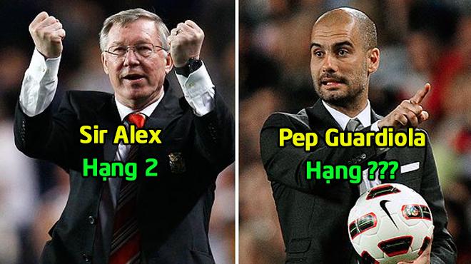 Tạp chí France Football CÔNG BỐ top 10 HLV vĩ đại nhất thế giới: Sir Alex vẫn chưa phải là số 1!