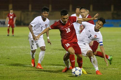Hàng công im hơi lặng tiếng, U19 Việt Nam chia điểm với Thái Lan trong trận cầu không bàn thắng