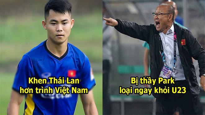 Chê Việt Nam không bằng Thái Lan, cầu thủ U23 bị thầy Park loại khỏi đội ngay trong đêm