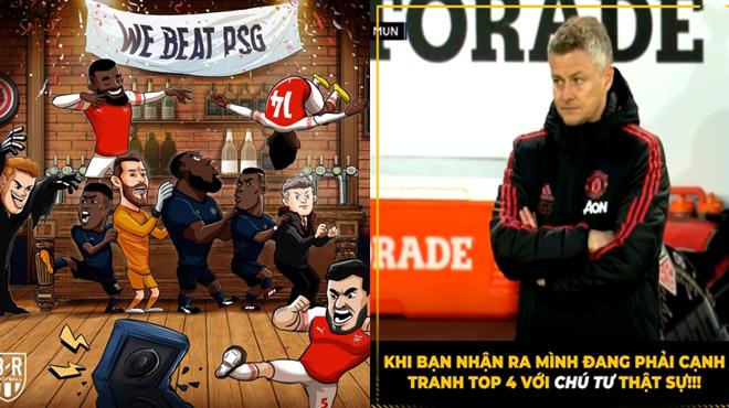 CHÙM ẢNH: MU bị đem ra làm trò cười trên MXH sau trận thua muối mặt trước Arsenal
