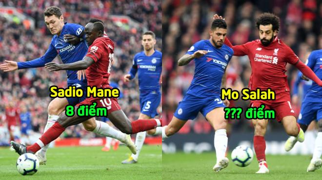 """Chấm điểm Liverpool 2-0 Chelsea: Tất cả """"quỳ gối"""" trước sự xuất sắc của Vua Ai Cập"""