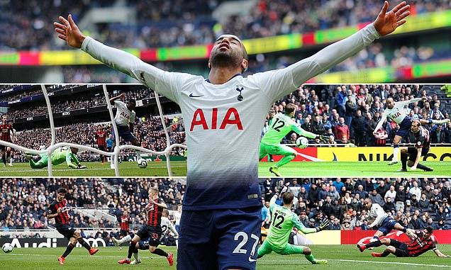 """Kẻ đóng thế cho Harry Kane lập Hattrick """"thần thánh"""", Tottenham đòi lại vị trí thứ 3 từ tay Chelsea"""