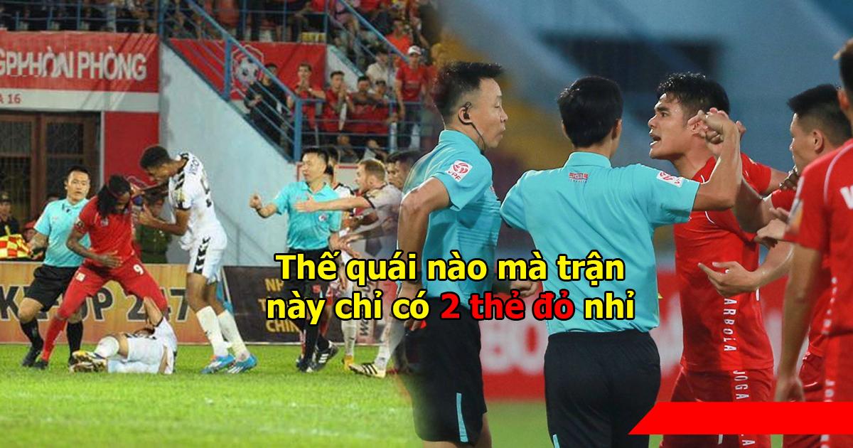 """Trận đấu """"võ"""" giữa Hải Phòng – Đà Nẵng được đưa lên diễn đàn lớn nhất thế giới, bạn bè quốc tế cười chê V League thảm hại như này đây!"""