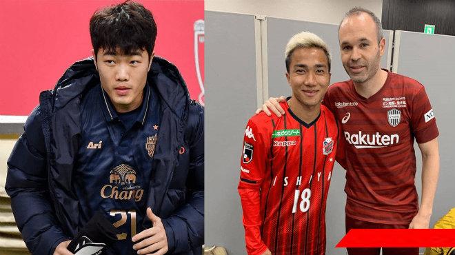 Sự đối nghịch: Cầu thủ Việt Nam dự bị ở Thái Lan, cầu thủ Thái Lan chiếm suất đá chính ở Nhật Bản, Bỉ