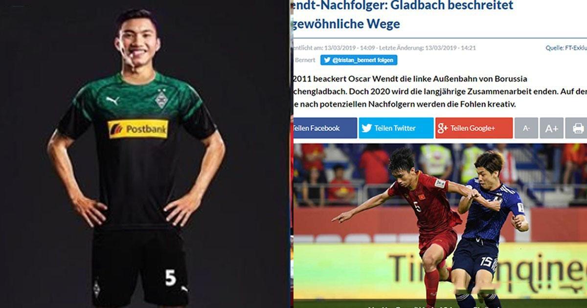 XONG! Văn Hậu đã ký hợp đồng 3 năm với Monchengladbach, nhận số tiền đi.ên rồ trong lịch sử bóng đá VN