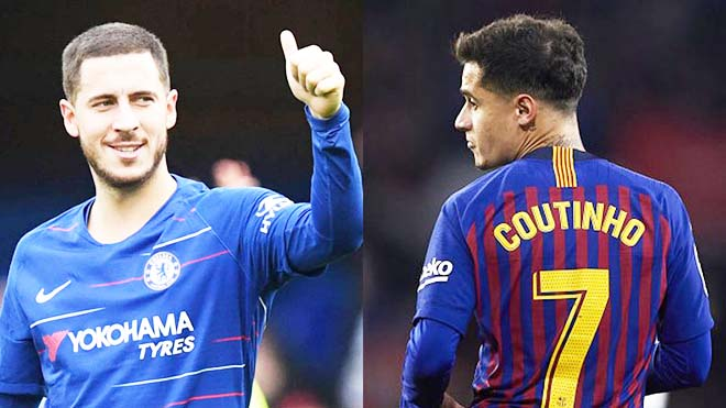 """TIN CHUYỂN NHƯỢNG 27/4: Mất Hazard, Chelsea dốc hầu bao kích hoạt """"bo.m tấn"""" Barca"""