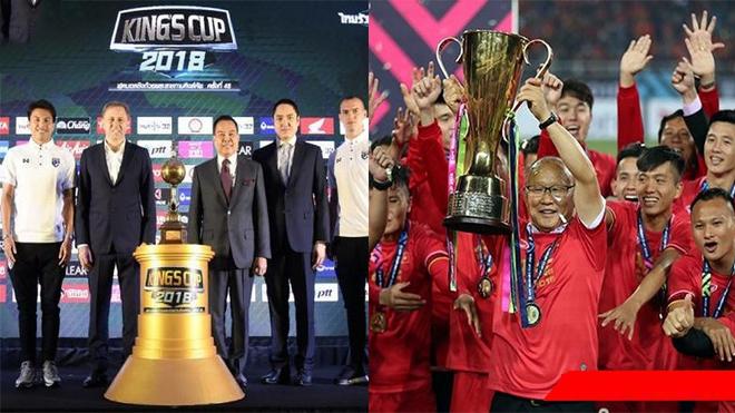 Chính thức xác định 4 đội tham dự King's Cup tháng 6 tới: Việt Nam tràn trề cơ hội vô địch ngay trên đất Thái