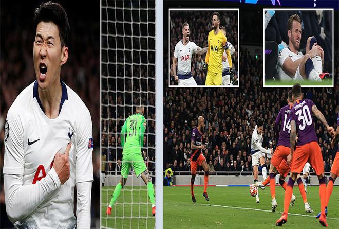 Son Heung-min tỏa sáng như một vị thần, Tottenham giành thắng lợi nghẹt thở trước Man City