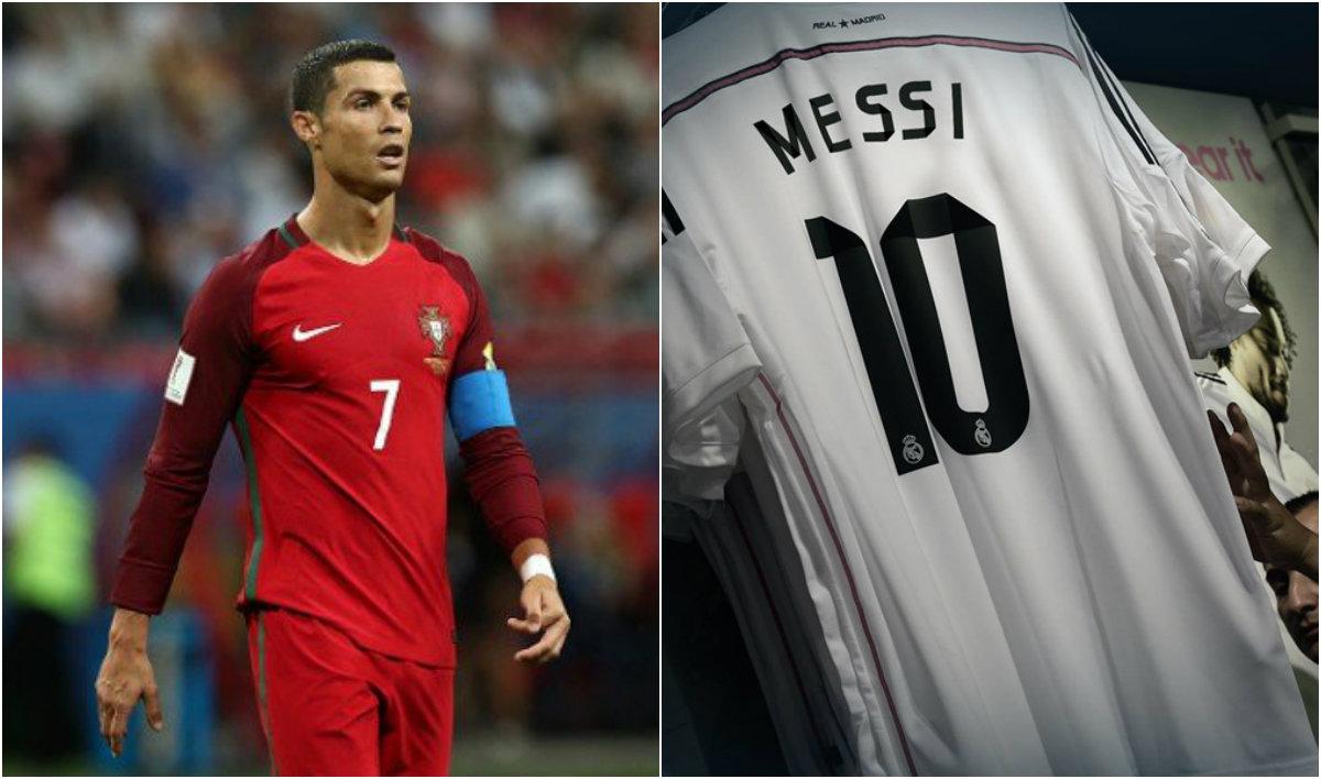 Những 'cú lừa' ngoạn mục của bóng đá thế giới trong ngày Cá tháng tư: Ronaldo là người của Tây Ban Nha, Messi gia nhập Real Madrid, mặc áo số 10
