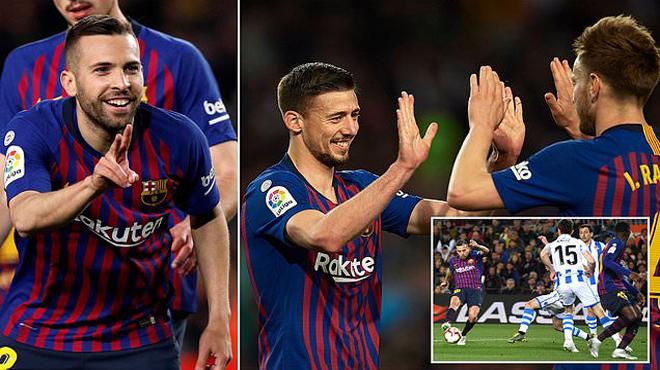 """Barcelona – Real Sociedad: Messi """"ẩn mình"""", người hùng bất ngờ"""