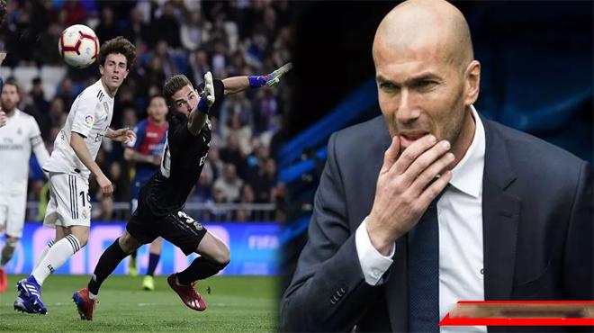 Nhìn con trai bắt bóng như thủ môn nghiệp dư, Zidane bất lực trước mùa giải đáng vứt đi của Real Madrid