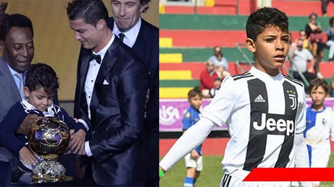 Thừa hưởng gen siêu hạng của cha, quý tử nhà Ronaldo ghi 12 bàn trong 1 trận đấu cho đội trẻ Juventus