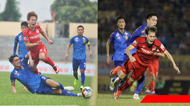 Sao U23 Việt Nam vào bóng thô bạo với đàn anh Văn Toàn, triệt hạ đối thủ không kém gì Quế Ngọc Hải