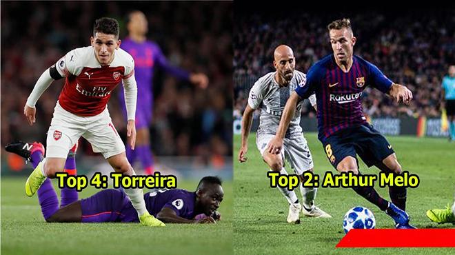 Top 10 tiền vệ trung tâm U23 đắt giá nhất: Mục tiêu của Barca và MU dẫn đầu