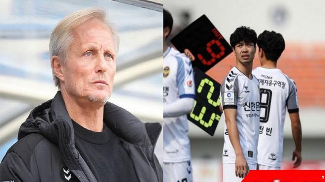 HLV Incheon United lại đùa cợt fan Việt, Công Phượng mất suất đá chính ngay trước giờ ra sân?
