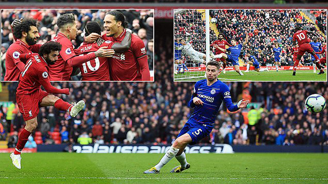 Vua Ai Cập làm nên siêu phẩm nổ tung cầu trường, Liverpool nhấn chìm Chelsea chỉ trong vòng 3 phút